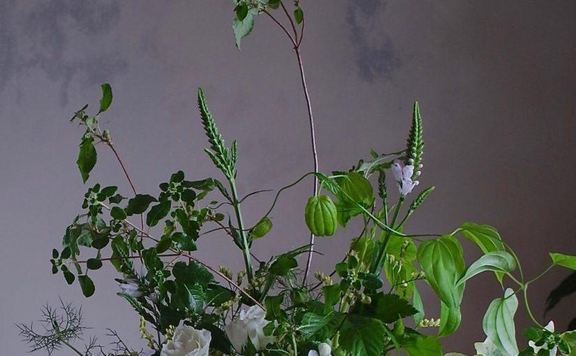 グリーンいっぱいの花束-3