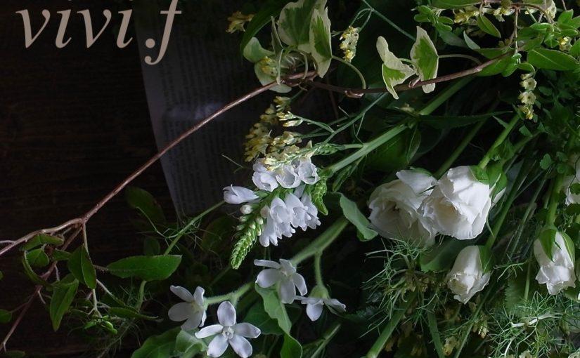 グリーンいっぱいの花束-6