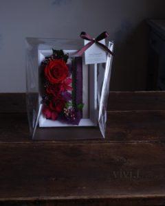 贈り花vivi.f北九州プリザーブドフラワーアレンジメント